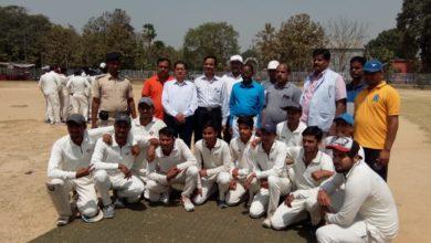 Photo of आरडी एंड डीजे कॉलेज ने जेआरएस कॉलेज को 5 विकेट से हराया