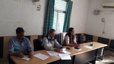 Photo of स्वास्थ्य समिति के स्वास्थ्य कार्यक्रमों की हुई समीक्षात्मक बैठक
