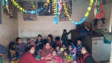 Photo of आंगनवाड़ी केन्द्रों में मनाया गया अन्नप्राशन दिवस