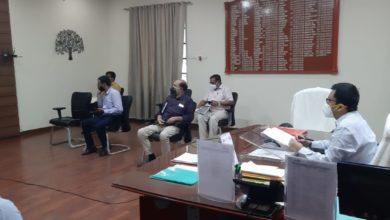 Photo of पूर्णियाँ : वीडियो कॉन्फ्रेंसिंग के माध्यम से की गई स्वास्थ्य विभाग की समीक्षात्मक बैठक