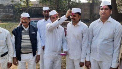 Photo of पार्टी का झंडा लहराकर मनाया गया कांग्रेस का स्थापना दिवस