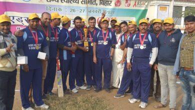 Photo of पटना : एडस पर जागरूकता लाने के लिए खेला गया क्रिकेट मैच