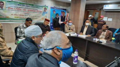Photo of पटना : स्वास्थ्य मंत्री ने किया कैंसर स्क्रीनिंग-सह-जागरूकता अभियान का शुभारंभ